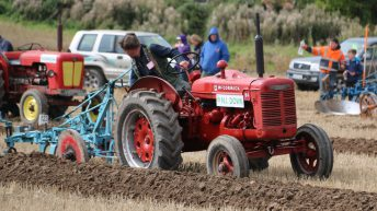 We'll keep on ploughing…field competitions go on despite Storm Ali