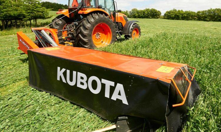 Kubota-branded farm machinery all set for Irish launch