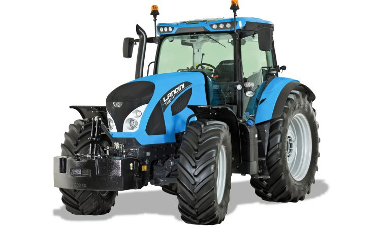 Landini's latest lands in Tullamore…in readiness for the 'Ploughing'