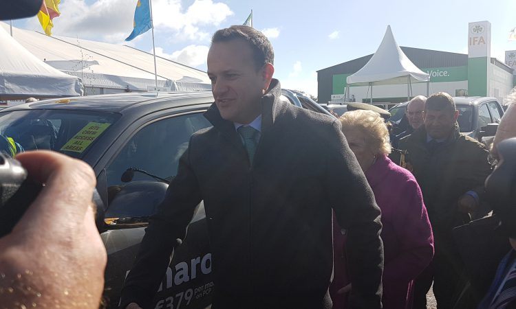 Taoiseach arrives at National Ploughing Championships