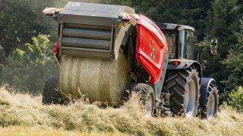 'New-look' Massey Ferguson round baler spotted
