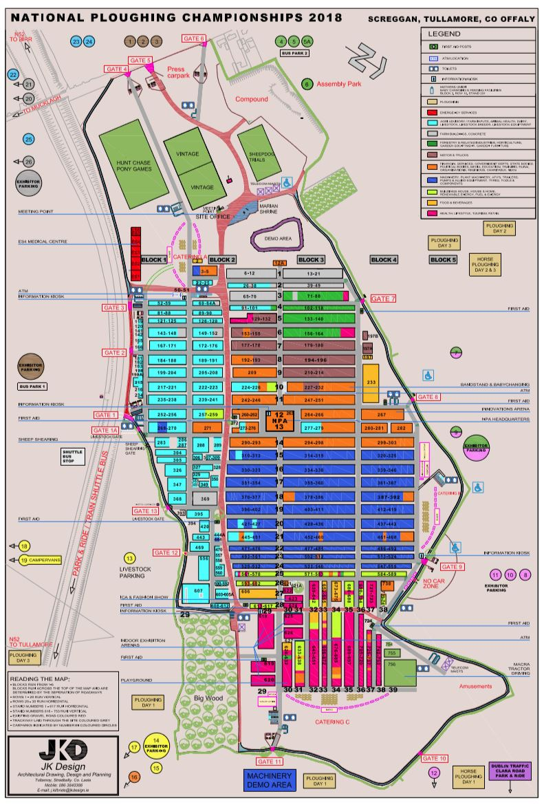 Map Of Ireland On Your Face.Site Map Find Your Way Around The Ploughing Agriland Ie