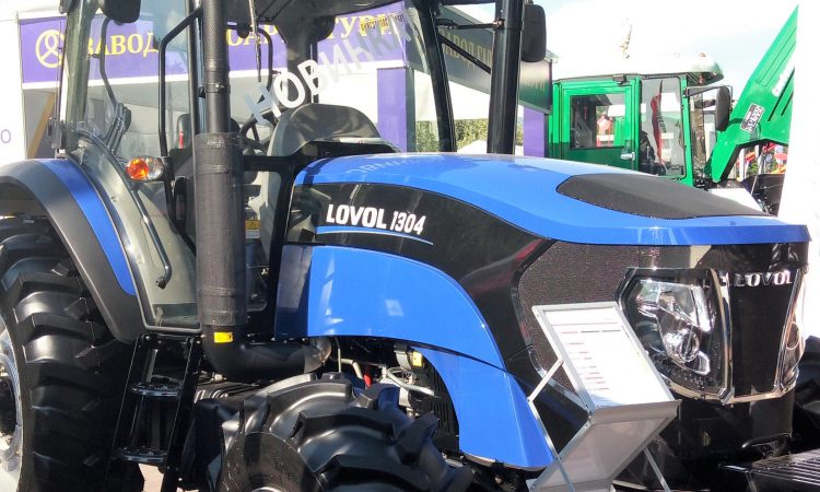 130hp Chinese-built Lovol edges into Europe