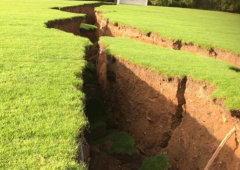 Gaping chasm emerges in Co. Monaghan field