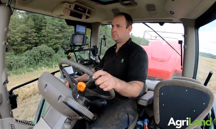Video: Clearing 100ac/day with a big square baler in Co. Laois