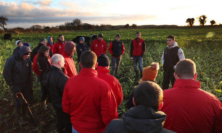 """青年农民讨论小组""""农业事务的支柱"""""""