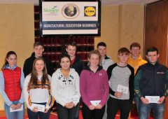 €1,000 agri education bursaries awarded to 5 candidates