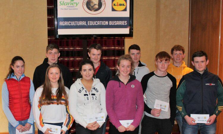 €1,000 agri education bursaries awarded to 5 candidates