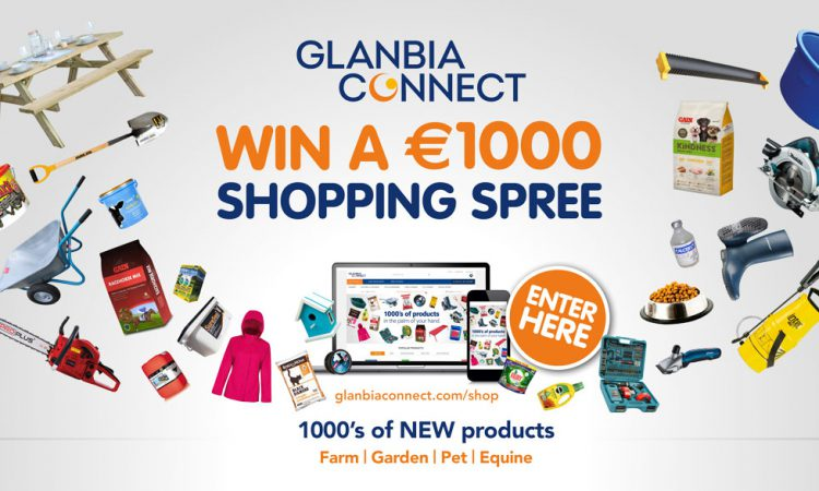 Win a €1,000 shopping spree with Glanbia Connect