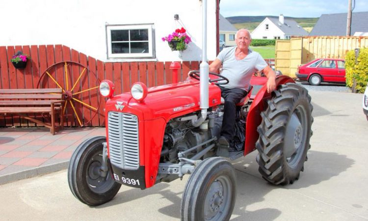 Donegal man to drive length of the country in restored 35X