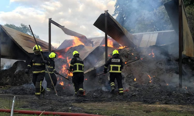 'Suspected activists' set dairy farmer's shed alight overnight