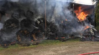 Bales go up in smoke in Tipperary barn blaze