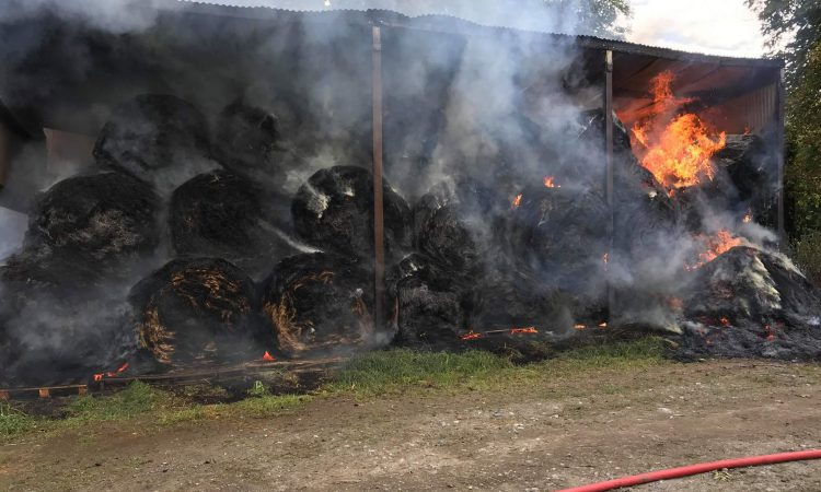 Bales go up in smoke in Tipperary barn blaze