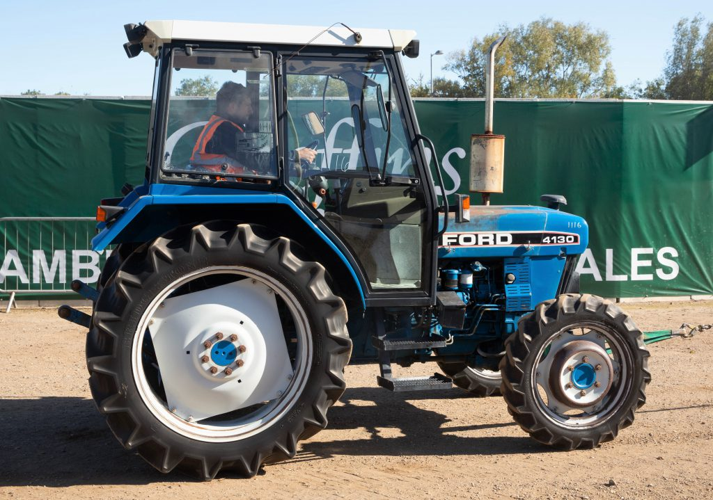 New Holland Ford >> Auction Report Ford New Holland Highlights From Big