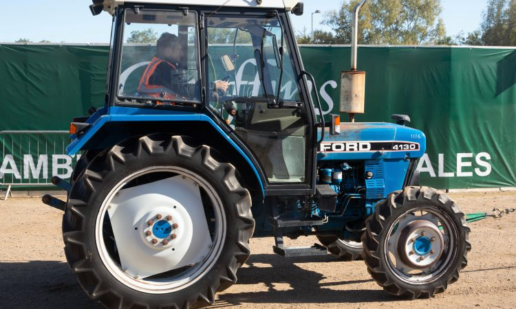 Auction report: Ford / New Holland highlights from big October sale