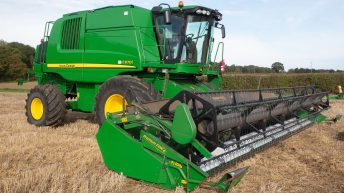 Auction report: 7-year-old combine tops the bill at on-farm sale