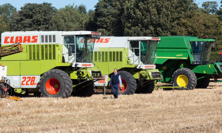 Auction report: Combines and tractors in the mix at dispersal sale