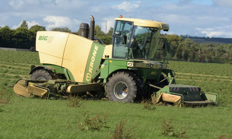 Market for grassland machinery was up, but by how much?