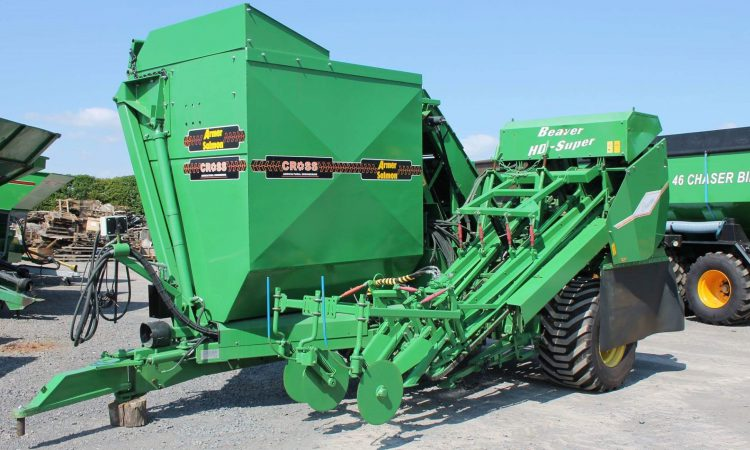 'First new Armer harvester sold' since the demise of the sugar industry