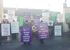 Farmers outline demands at Dawn Meats plant