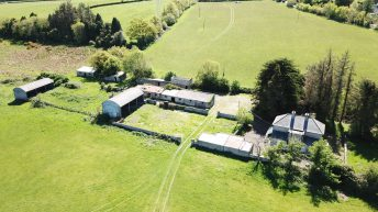 30.5ac farm and 'stunning views' on foothills of Dublin Mountains