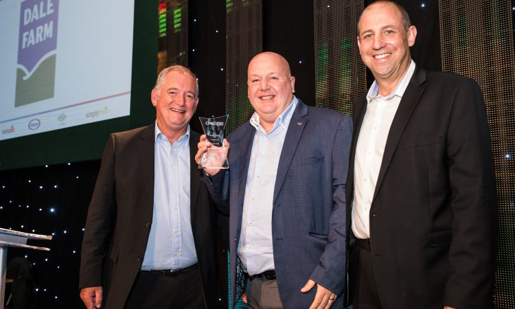 Gong for Dale Farm at Costcutter Supplier Awards