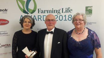 Wildlife farmer of the year announced at Belfast event