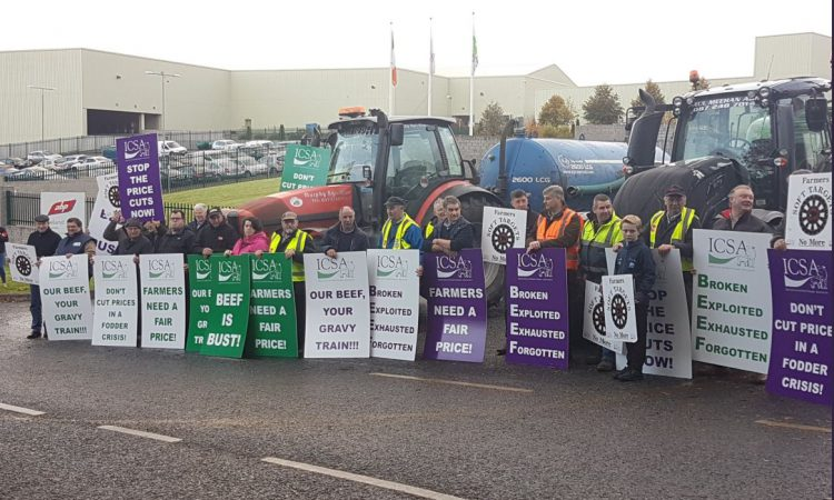 ICSA beef price protest brings ABP plant to standstill