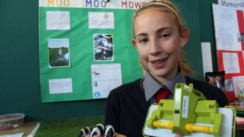 Primary school pupils' agri innovation praised