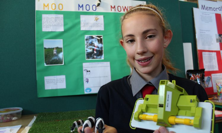 Primary school pupils' agri innovation praised