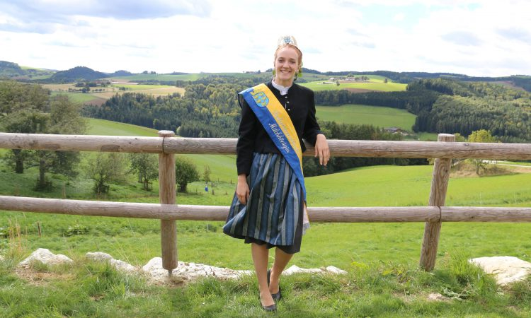 Meet one of Austria's beauty queens using tradition to promote farming
