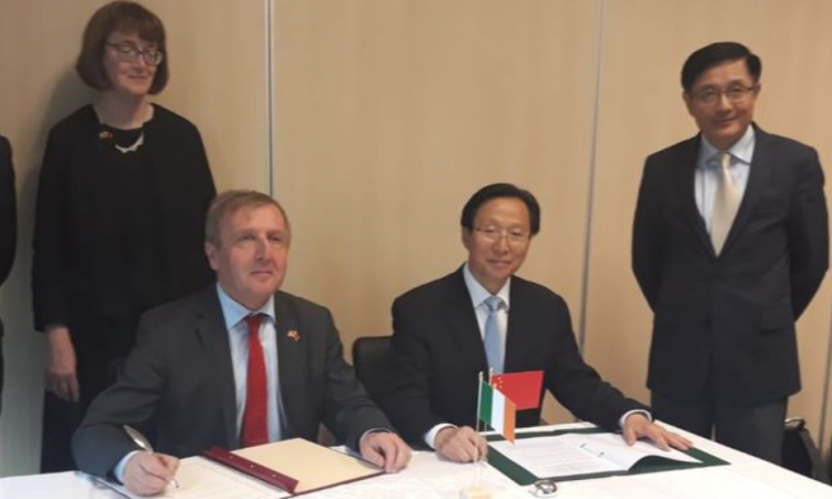 Chinese Minister for Agriculture visits Moorepark