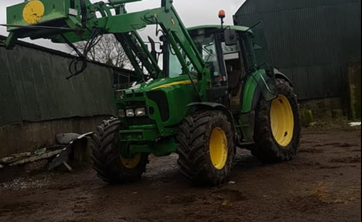 Appeal for information regarding Meath tractor theft