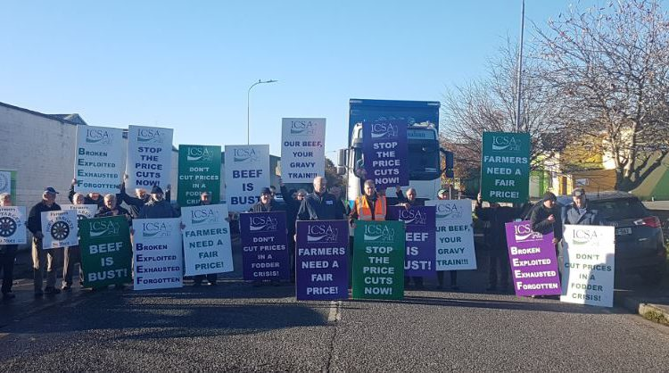 ICSA protest draws to a close outside Dawn Meats plant