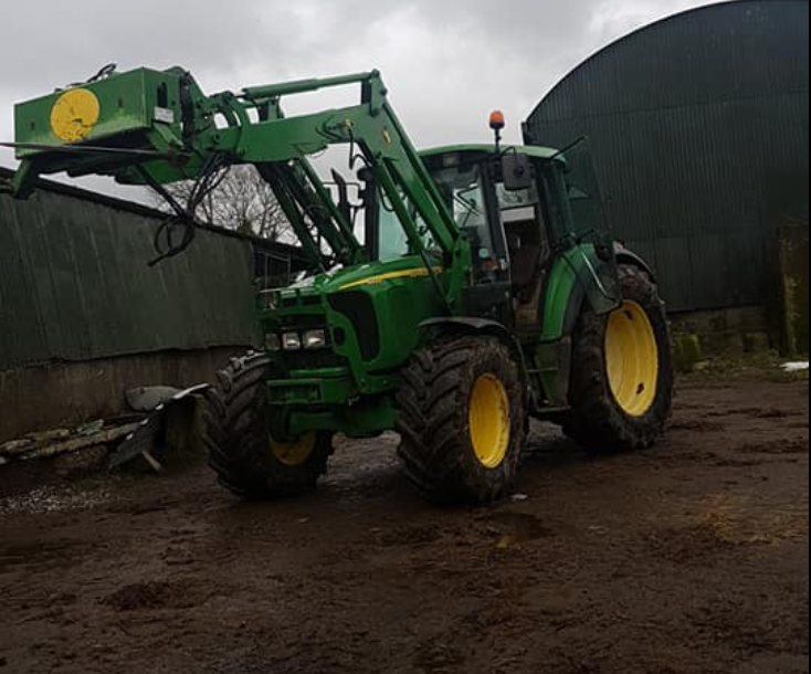 Tractor stolen in night-time raid in Co. Meath