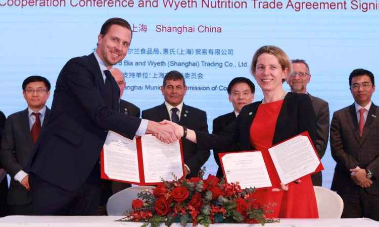 Bord Bia signs 'lucrative' agreement with Wyeth Nutrition in China