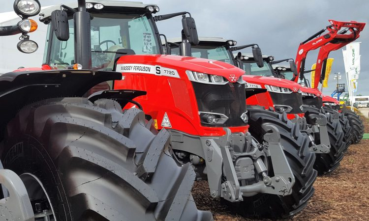 Nearly 90% of new tractors have in excess of 100hp