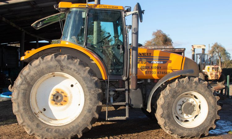 Auction report: Tractors and trimmers come under the hammer