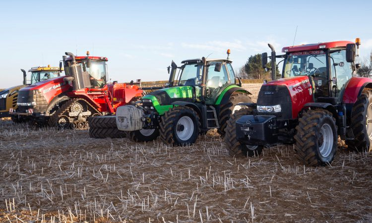Auction report: Wheeled and tracked tractors change hands at dispersal sale