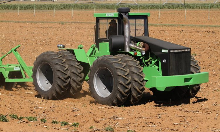 Production tops 600 tractors; but who or what is Agrico?