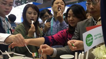 Irish beef goes down a storm at Chinese import expo