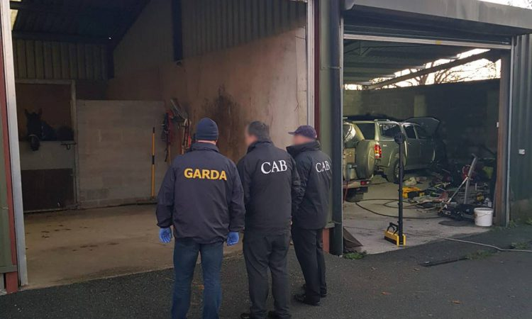 Organised crime gang hit by CAB raids in Meath and Dublin