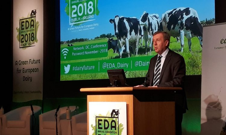 Minister Creed launches European dairy conference 2018
