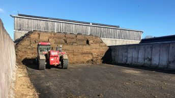 My silage pit is disappearing; how can I calculate if I have enough?