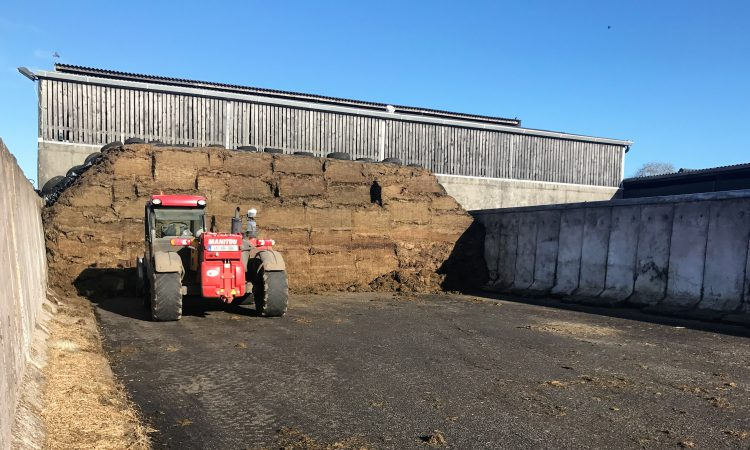 How can I reduce waste now that my silage pit is open?