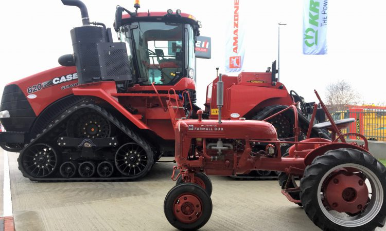 Ireland's biggest tractor lines out for 'open evening' in the south-east