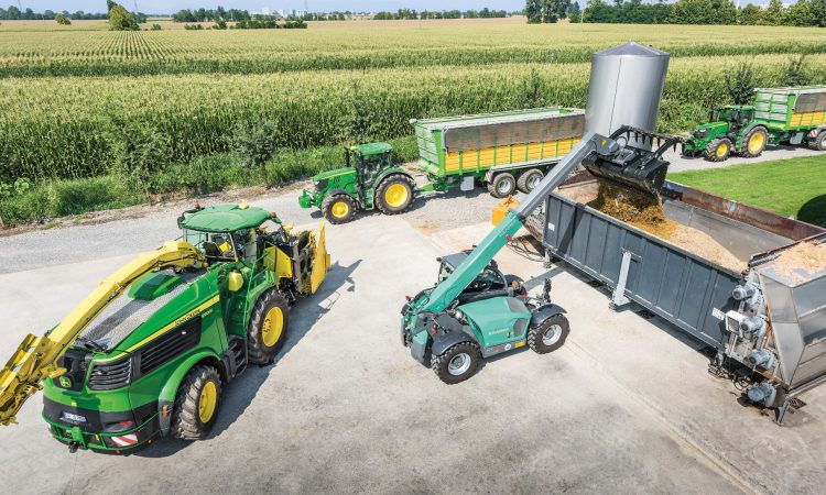 Flagship 970hp John Deere forager on the cusp of its public debut