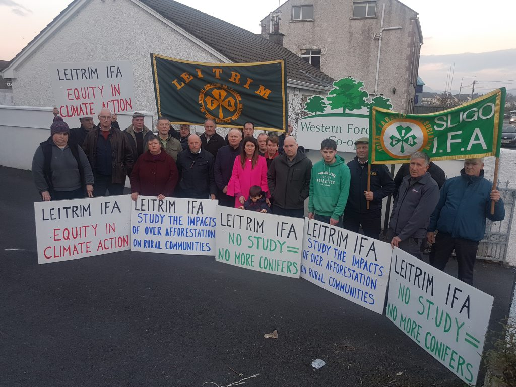 Stand-off continues in Leitrim afforestation controversy - Agriland ie
