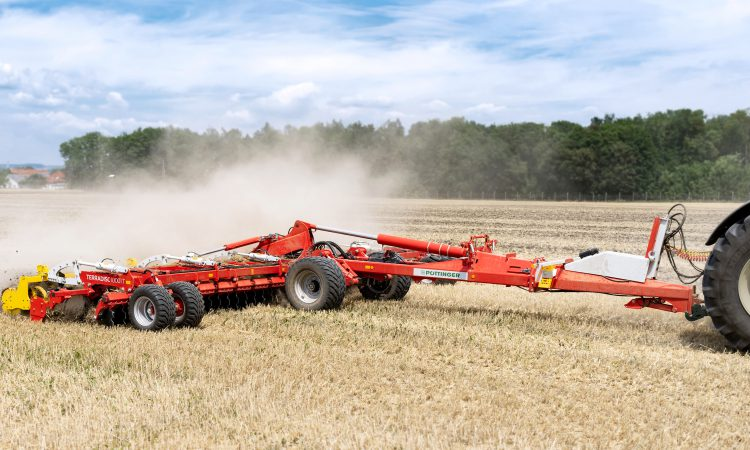Pottinger goes large…with a set of 10m discs