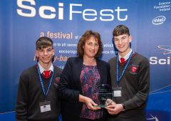 Wexford students take SciFest award for agriculture project